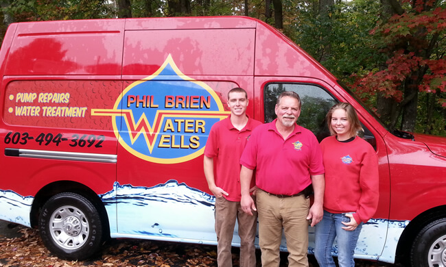 Phil Brien Water Wells is a family owned business